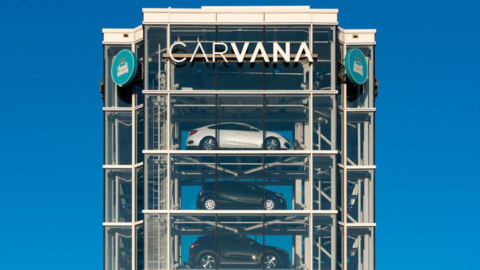 TEMPE, AZ/USA - APRIL 10, 2019: Carvana automobile dealership vending machine.