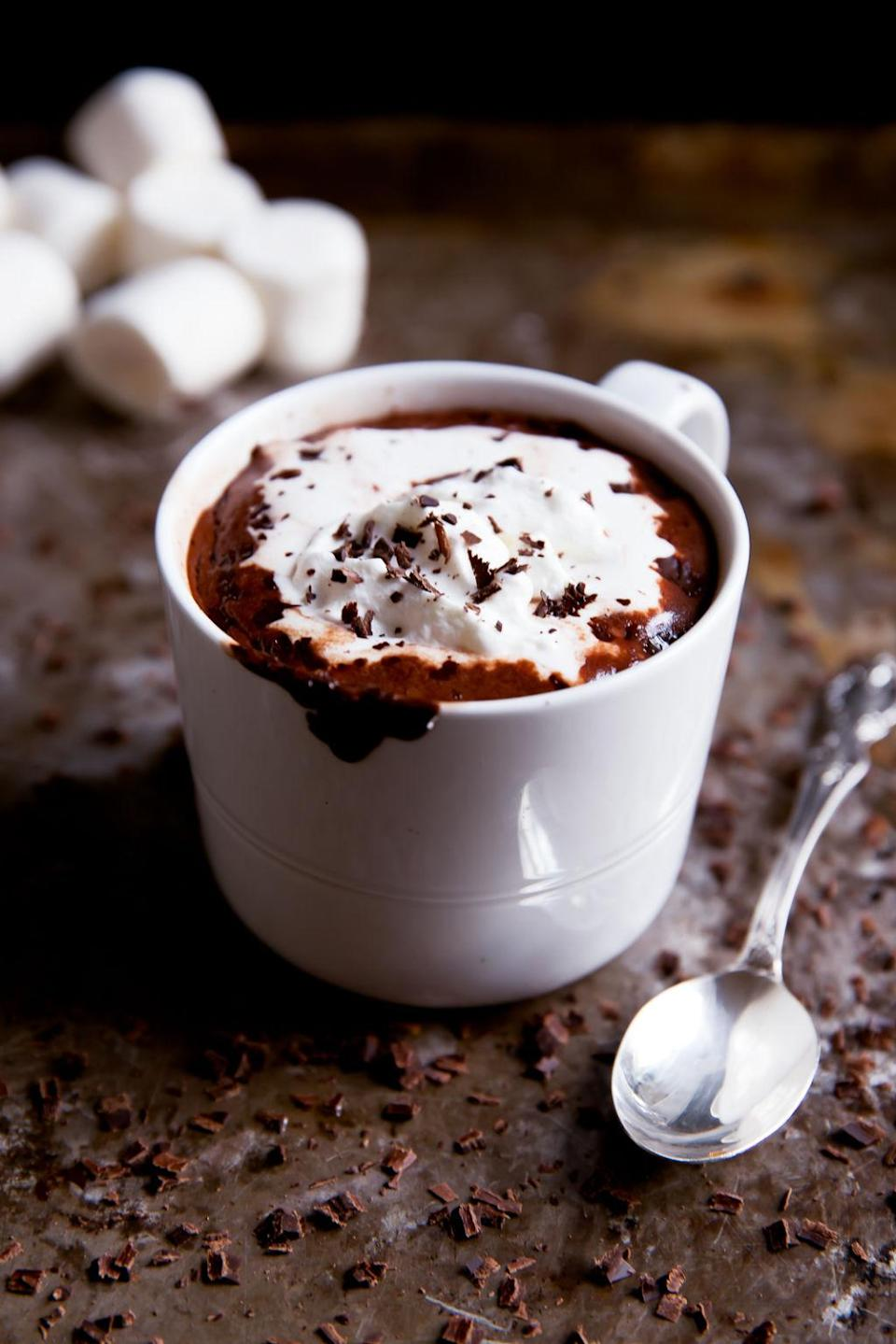 "<p>This recipe's <a href=""http://www.drozthegoodlife.com/healthy-food-nutrition/healthy-recipe-ideas/recipes/a940/spiced-hot-chocolate/"" rel=""nofollow noopener"" target=""_blank"" data-ylk=""slk:list of wholesome ingredients"" class=""link rapid-noclick-resp"">list of wholesome ingredients</a> yields a rewarding creation that will help you relax at the end of a long day.</p><p>Grab the recipe from <a href=""http://www.ambitiouskitchen.com/2015/11/coconut-milk-hot-chocolate/#more-13975"" rel=""nofollow noopener"" target=""_blank"" data-ylk=""slk:Ambitious Kitchen"" class=""link rapid-noclick-resp"">Ambitious Kitchen</a>. </p>"