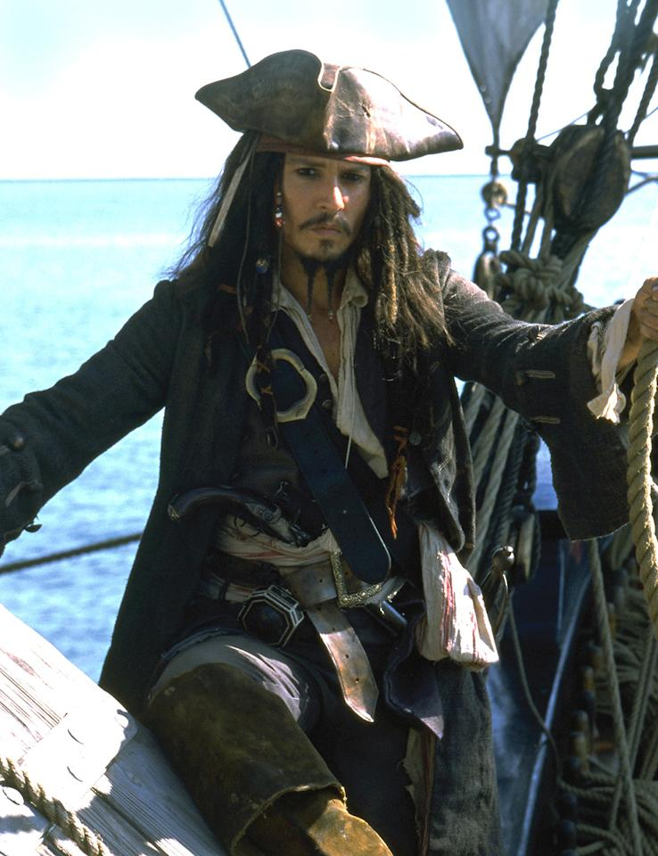"""Pirates of the Caribbean"":  ""I love that time of history,"" said Simpkins, ""I love drawing and drawing ships. When I first saw it, I loved it because of the ships. Then, I got more into it and I loved Johnny Depp and Orlando Bloom. They're really cool."""