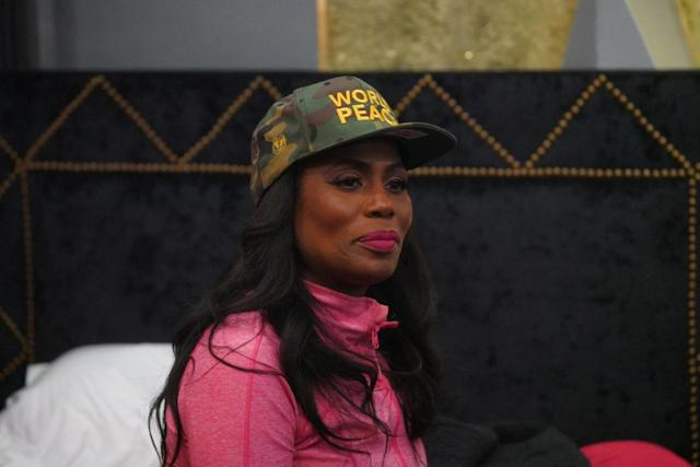 Omarosa on <em>Celebrity Big Brother</em>. (Photo: Bill Inoshita/CBS)