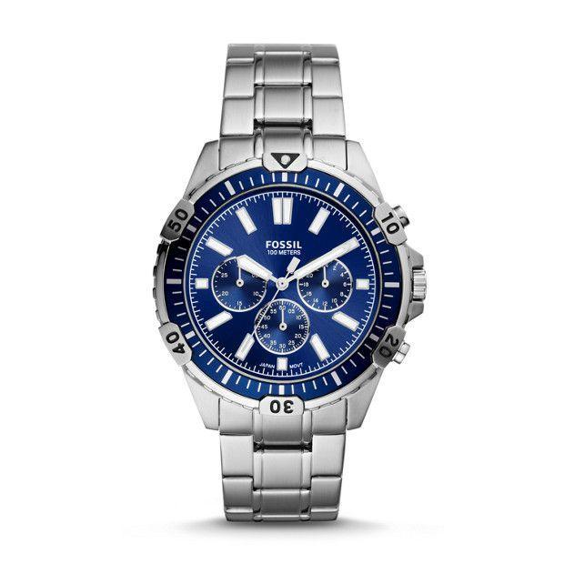"""<p><strong>Fossil</strong></p><p>fossil.com</p><p><strong>$139.00</strong></p><p><a href=""""https://go.redirectingat.com?id=74968X1596630&url=https%3A%2F%2Fwww.fossil.com%2Fus%2Fen%2Fproducts%2Fgarrett-chronograph-silver-tone-stainless-steel-watch-sku-fs5623p.html&sref=https%3A%2F%2Fwww.bestproducts.com%2Flifestyle%2Fg27420749%2Fengraved-gifts%2F"""" rel=""""nofollow noopener"""" target=""""_blank"""" data-ylk=""""slk:Shop Now"""" class=""""link rapid-noclick-resp"""">Shop Now</a></p><p>Your love for him stands the test of time, and this engravable option will prove it with a secret personalized message behind the face that he'll want to cherish for years to come.</p>"""