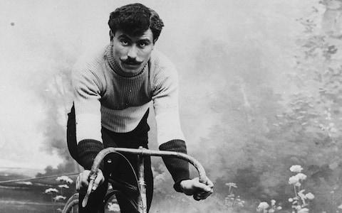 <span>Octave Lapize was the first rider to pass over the Tourmalet in the Tour de France</span> <span>Credit: GETTY IMAGES </span>