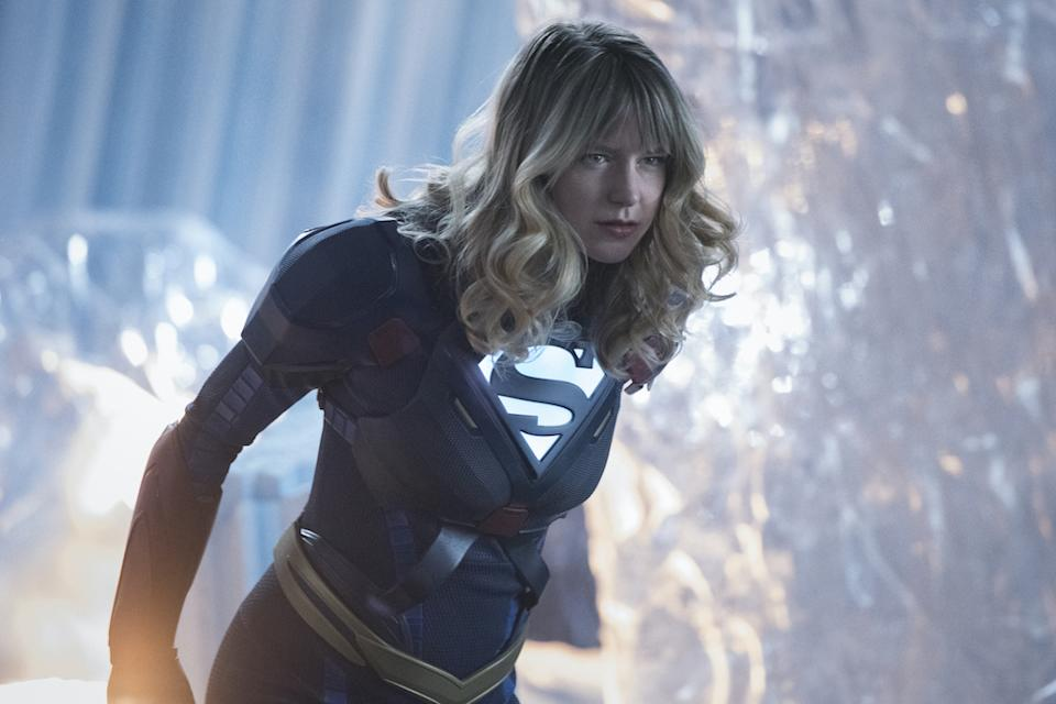 Supergirl (Melissa Benoist) in Supergirl. (Warner TV)