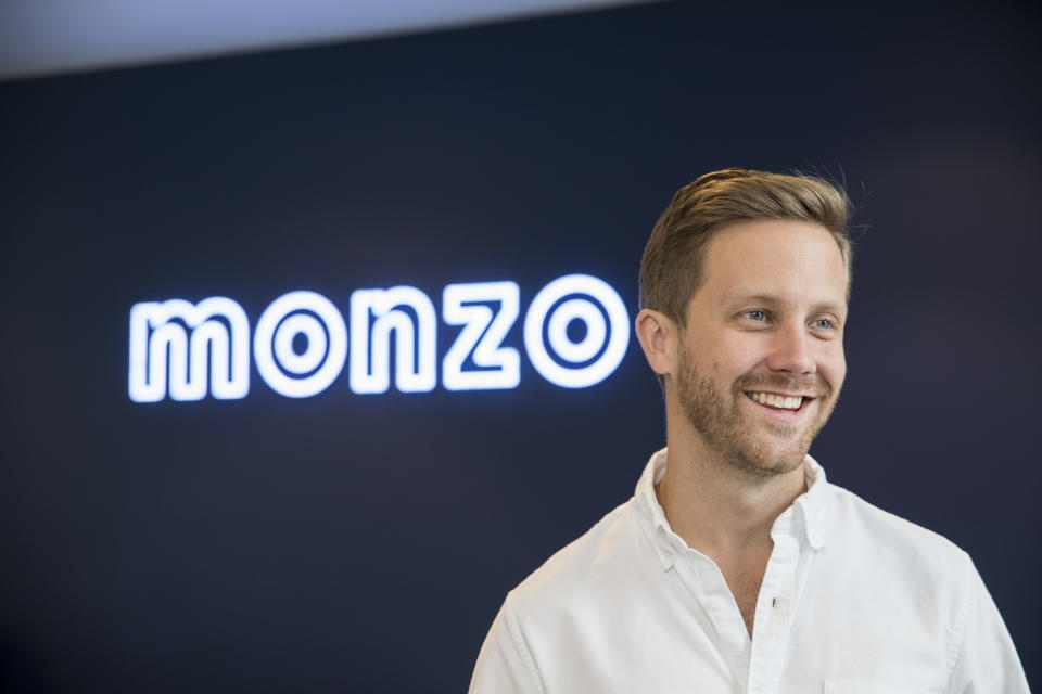 In the money: Monzo founder and CEO Tom Blomfield. Photo: Monzo