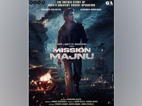Poster of the film 'Mission Majnu' (Image Source: Twitter)