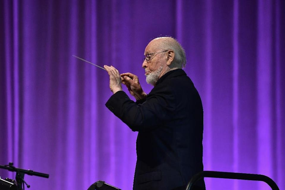John Williams — shown here at the Star Wars Celebration in April 2017 in Orlando, Florida — has the most Oscar nominations of any living person with 51 (AFP Photo/Gustavo Caballero)