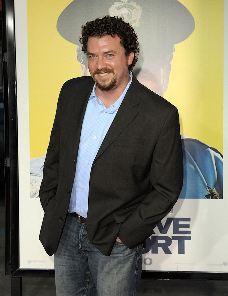 """<a href=""""http://movies.yahoo.com/movie/contributor/1802103902"""">Danny McBride</a> at the Los Angeles premiere of <a href=""""http://movies.yahoo.com/movie/1810025224/info"""">Observe and Report</a> - 04/06/2009"""