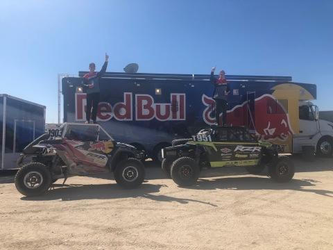 Polaris RZR® Factory Racing Triumphs at Laughlin Desert Classic, With Guthrie Jr. & Quintero Capturing Overall Series Championships