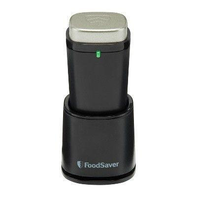 """<p><strong>FoodSaver</strong></p><p>target.com</p><p><strong>$24.99</strong></p><p><a href=""""https://www.target.com/p/foodsaver-handheld-vacuum-sealer-fs1110/-/A-54640066"""" rel=""""nofollow noopener"""" target=""""_blank"""" data-ylk=""""slk:Shop Now"""" class=""""link rapid-noclick-resp"""">Shop Now</a></p><p>You're going to need a specific type of bag for this vacuum sealer, but it's totally worth it. Your food will taste as fresh as the day you bought it. </p>"""