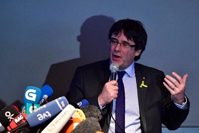 """""""We are stronger if we can act in a cross-party, united way, across the whole ideological spectrum,"""" Puigdemont said"""