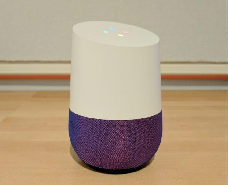 Google Home purple base