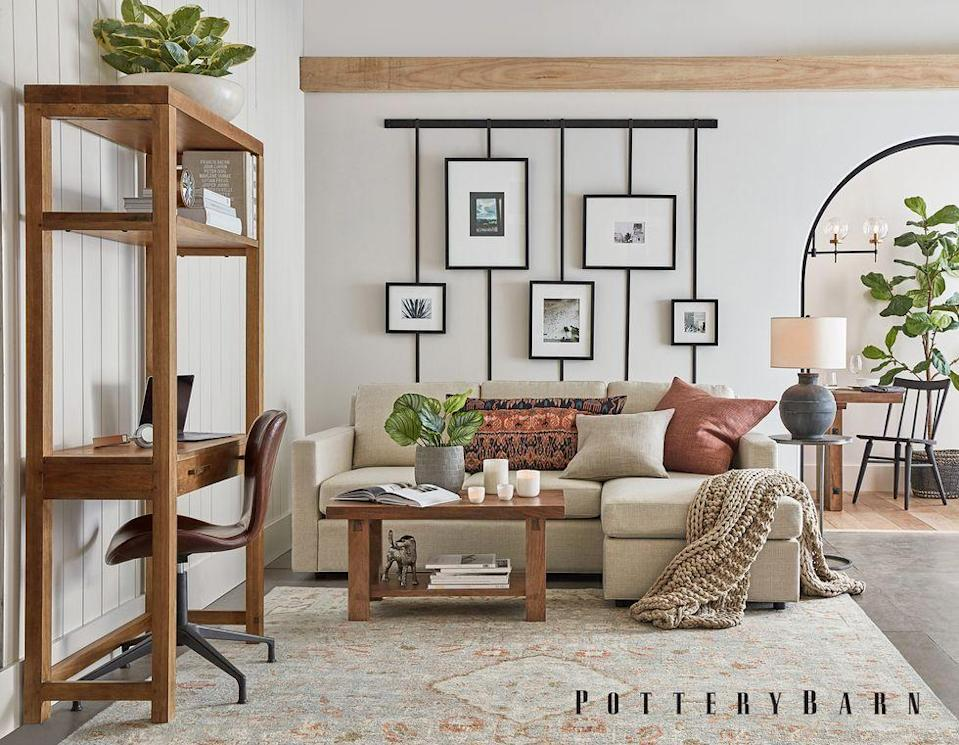 """<p>We are honored to have the support of longstanding partners including Caesarstone, Fiskars, Pottery Barn, Resource Furniture, S.Harris, Stark, Thermador and YLighting</p><p>Pottery Barn is a premier specialty retailer for casual, comfortable and stylish home furnishings. The brand is dedicated to beautiful ideas for real life, quality products that are crafted to last, sustainability and service. Pottery Barn is proud to sponsor BADG's mission in building an equitable and inclusive creative culture by advancing the community of independent Black artists, designers, and makers through visibility and opportunity.</p><p>Visit: <a href=""""https://www.potterybarn.com/?cm_type=gnav"""" rel=""""nofollow noopener"""" target=""""_blank"""" data-ylk=""""slk:potterybarn.com"""" class=""""link rapid-noclick-resp"""">potterybarn.com </a></p>"""