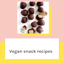 <p>Saving the last till least... Keep scrolling for ten savoury and sweet vegan snack recipes that'll have you running to the supermarket to pick ingredients. Need we say peanut butter...? </p>