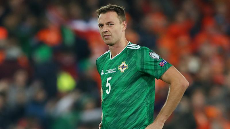 Jonny Evans stays at home as Northern Ireland head to Romania