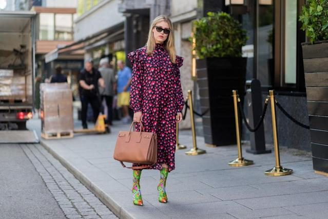 """If decades were defined by dress lengths the 2010s would undoubtedly be the midi. Case in point: <a href=""""https://uk.style.yahoo.com/zara-polka-dot-dress-141744992.html"""" data-ylk=""""slk:that Zara dress;outcm:mb_qualified_link;_E:mb_qualified_link;ct:story;"""" class=""""link rapid-noclick-resp yahoo-link""""><strong>that Zara dress</strong></a>, you know the white polka dot spotty midi we all wore to death and that took over Instagram this summer. Another decade defining 'M' is the #MeToo movement. After Hollywood producer Harvey Weinstein faced many public sexual abuse allegations in early October 2017, the #MeToo hashtag spread virally on social media, becoming a rallying call to action for millions to share their own experiences of sexual harassment. And what M round-up would be complete without a mention of mindfulness, the 'living in the moment' wellness trend promising to help reduce our stress, focus our attention and generally improve our lives. [Photo: Getty]"""