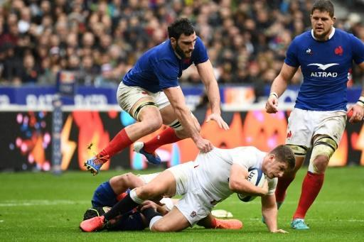 Owen Farrell's England lead Charles Ollivon's France on points difference at the top of the table