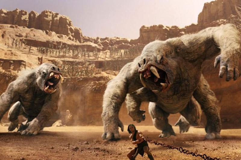 Taylor Kitsch in John Carter (Credit: Disney)