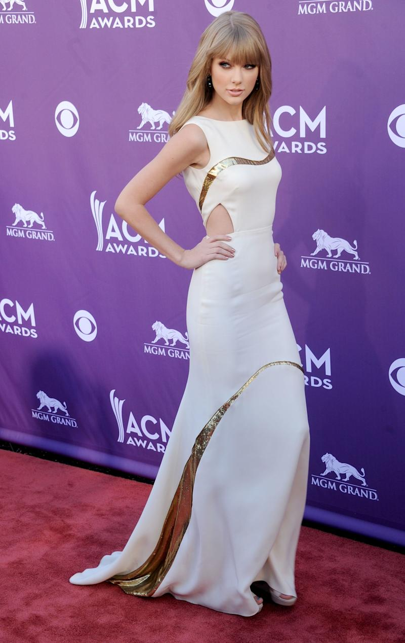 At the 47th Annual Academy Of Country Music Awards on April 1, 2012, in Las Vegas.