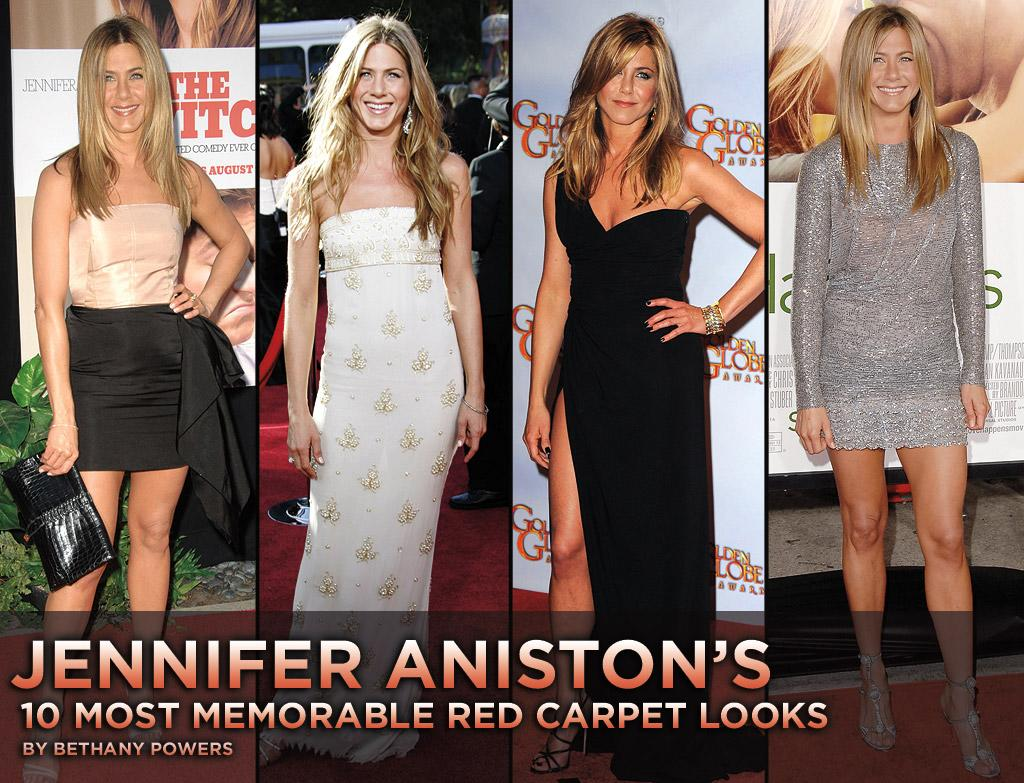 "Everyone fell in love with her as one of our favorite ""Friends,"" and she has since become a movie star and red carpet icon. Known as much for her toned legs as ""The Rachel"" hairdo that millions of women copied, <a href=""http://movies.yahoo.com/movie/contributor/1800021397"">Jennifer Aniston</a> sticks to what she knows looks fabulous -- Valentino, minis, and long waves -- while still keeping her choices surprising and fresh. Here are some of our favorite looks from the sexy star who has become the epitome of California cool."