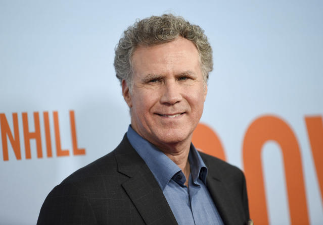 Actor Will Ferrell was a surprise guest at the Seahawks' virtual meeting. (Photo by Evan Agostini/Invision/AP)