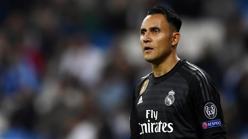 Navas feeling positive on Real Madrid future after seeing Zidane drop Courtois