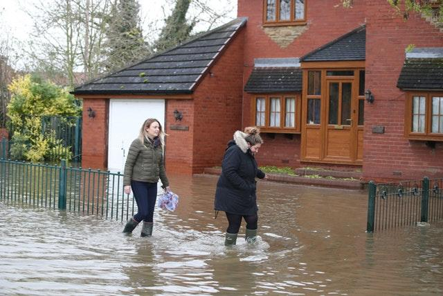 Flooding in the North of England