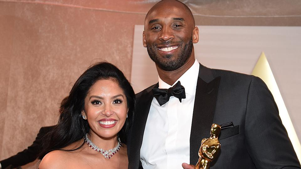 Vanessa Bryant has paid tribute to her late husband Kobe Bryant and their daughter Gigi, a year after their deaths in a Los Angeles plane crash. (Photo by Kevork Djansezian/Getty Images)