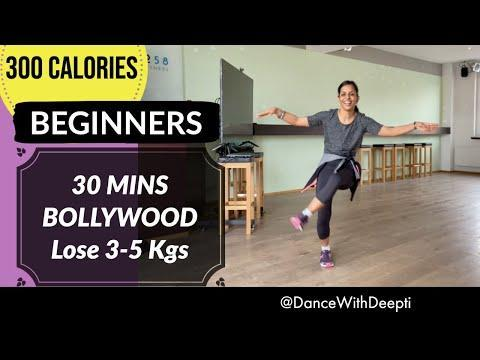 "<p>For Bollywood beginners, Dance with Deepti has you covered. This 30-minute workout will get you familiar with a basic routine that's doable for the whole family, too. Thanks, Deepti! </p><p><a href=""https://www.youtube.com/watch?v=RZbUH1VLASY&ab_channel=DanceWithDeepti"" rel=""nofollow noopener"" target=""_blank"" data-ylk=""slk:See the original post on Youtube"" class=""link rapid-noclick-resp"">See the original post on Youtube</a></p>"