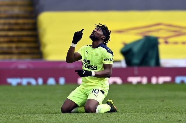 Allan Saint-Maximin inspired Newcastle to victory at Burnley