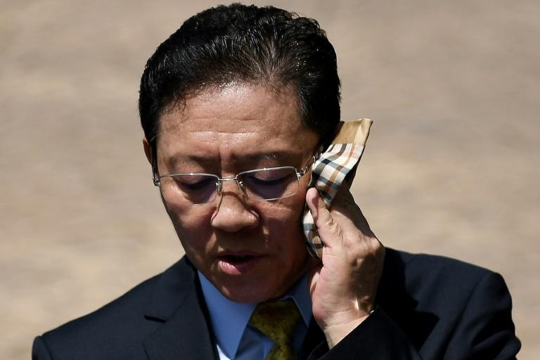 Media personnel on the lookout for North Korean envoy