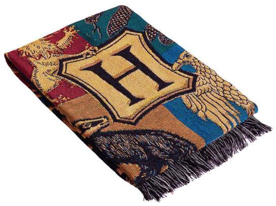 Harry Potter Throw Blanket, 48 x 60 Inches, Tri Wizard