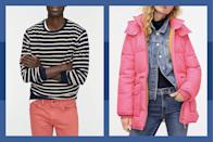 """<p><a class=""""link rapid-noclick-resp"""" href=""""https://go.redirectingat.com?id=74968X1596630&url=https%3A%2F%2Fwww.jcrew.com%2F&sref=https%3A%2F%2Fwww.townandcountrymag.com%2Fleisure%2Fg34429509%2Fbest-black-friday-deals%2F"""" rel=""""nofollow noopener"""" target=""""_blank"""" data-ylk=""""slk:SHOP THE SALE"""">SHOP THE SALE</a></p><p>From colorful coats to cozy knits, get <strong>50% off</strong> your full purchase from J.Crew <strong>on Black Friday</strong>. </p>"""