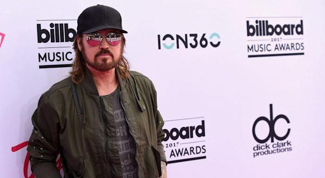 """Billy Ray Cyrus wrote """"Bring the Stanley Cup to Tennessee"""" to celebrate the <a class=""""link rapid-noclick-resp"""" href=""""/nhl/teams/nas/"""" data-ylk=""""slk:Nashville Predators"""">Nashville Predators</a>' Stanley Cup appearance. (John Shearer/Getty Images)"""