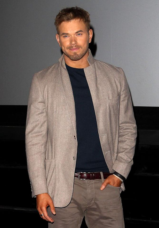 <b>Kellan Lutz<br></b>Wednesday, 11/14: Live with Kelly & Michael; Late Night with Jimmy Fallon<br>Thursday, 11/15: Conan