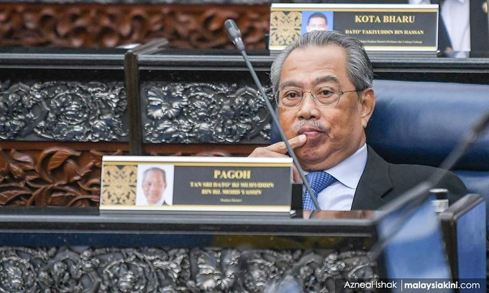 Two MPs moot confidence motion for Muhyiddin Yassin, 25 against