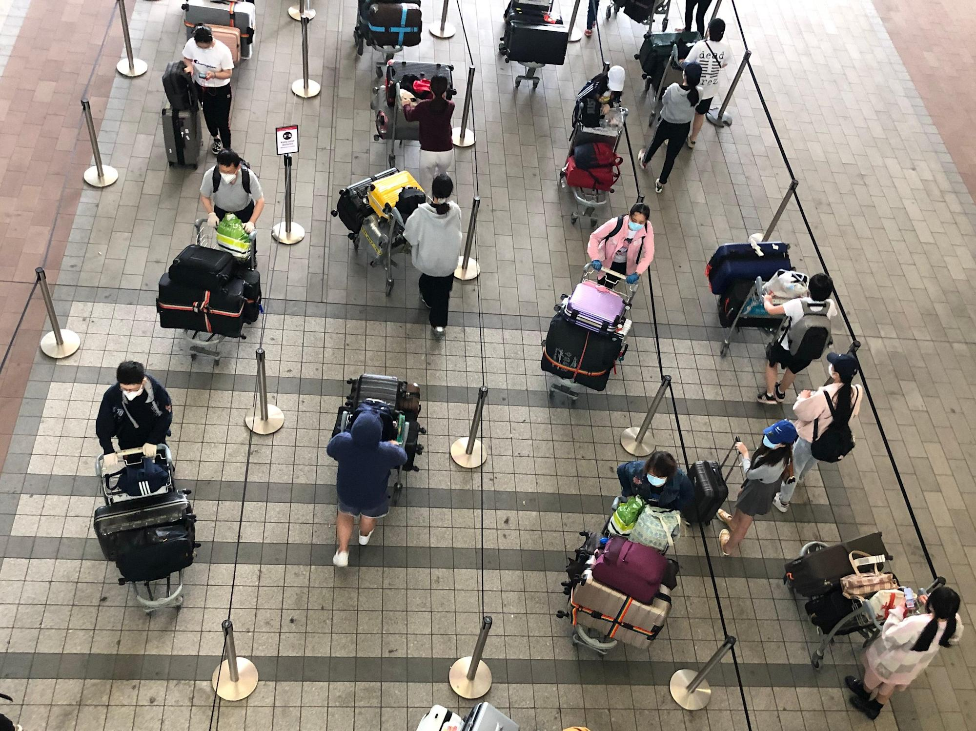 Travel: Prepare for long queues abroad and on arrival, warns Grant Shapps