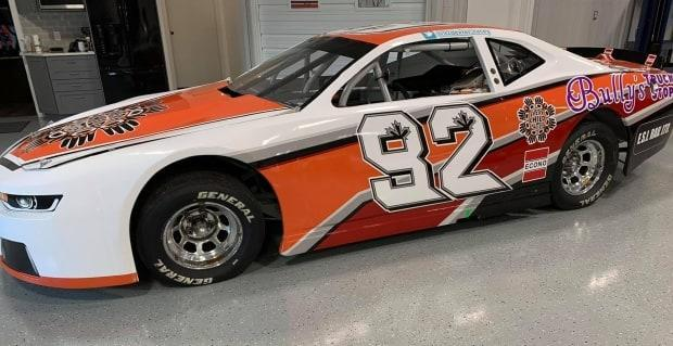 Dexter Stacey's car will be sporting the new color and logo at this weekend's series opener. (Jason Hathaway - image credit)