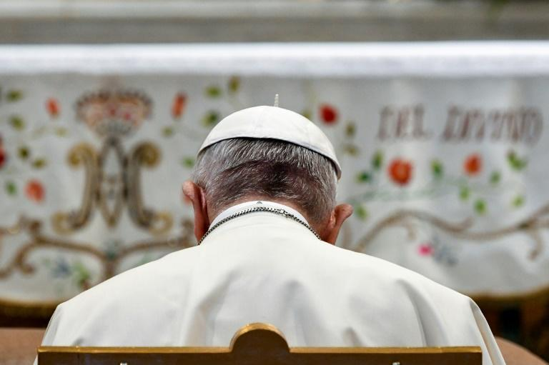 Canada once again calls on Pope Francis, seen here in May 2018, to formally apologize for abuses at church-run indigenous residential schools