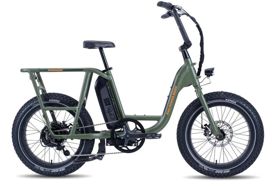 """<p><strong>Rad Power Bikes</strong></p><p>radpowerbikes.com</p><p><strong>$1199.00</strong></p><p><a href=""""https://go.redirectingat.com?id=74968X1596630&url=https%3A%2F%2Fwww.radpowerbikes.com%2Fproducts%2Fradrunner-electric-utility-bike&sref=https%3A%2F%2Fwww.esquire.com%2Flifestyle%2Fg35493380%2Fbest-bikes-for-men%2F"""" rel=""""nofollow noopener"""" target=""""_blank"""" data-ylk=""""slk:Buy"""" class=""""link rapid-noclick-resp"""">Buy</a></p>"""