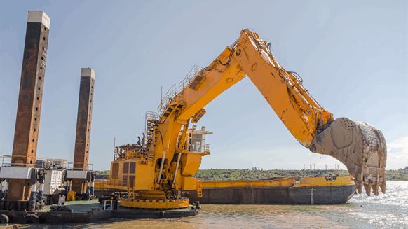 Texas LNG Developer Selects Channel Dredging Specialist
