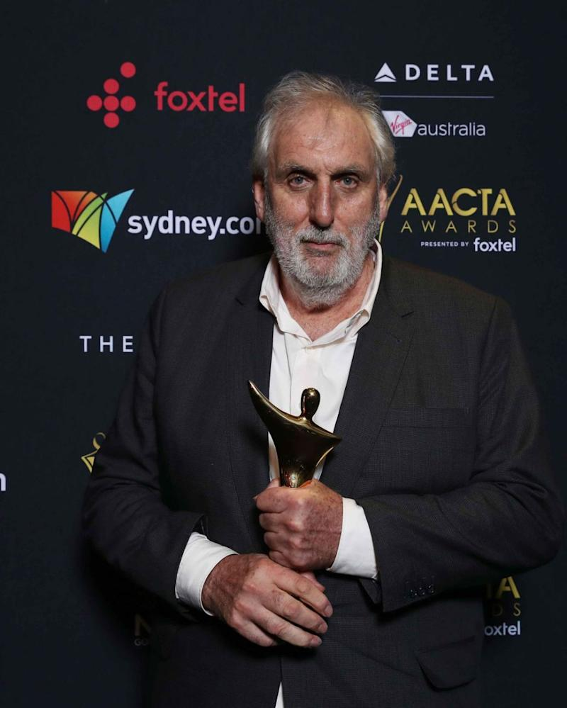 The award of the night, the Longford Lyell Award, went to legendary film director, Phillip Noyce. Source: Getty