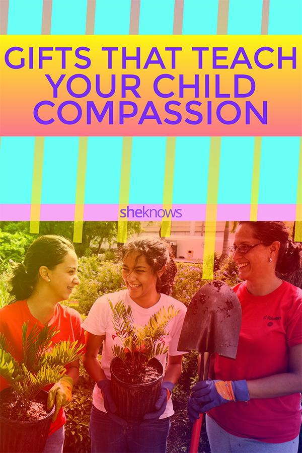 Gifts that teach kids compassion