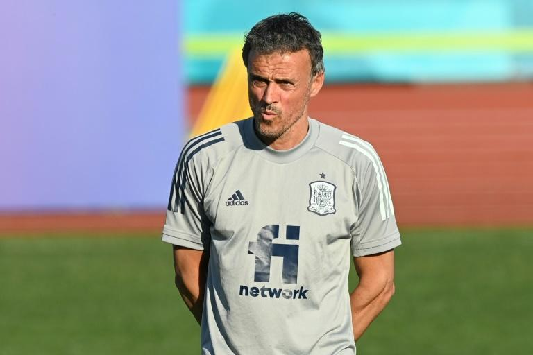 Luis Enrique is hoping to lead Spain to a record fourth European title