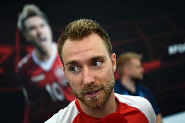 Denmark midfielder Christian Eriksen is the biggest star in Nordic football (AFP Photo/Jonathan NACKSTRAND)