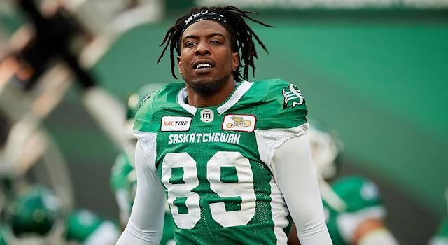 Duron Carter was released by the Riders on Aug. 11. (Photo by Brent Just/Getty Images)