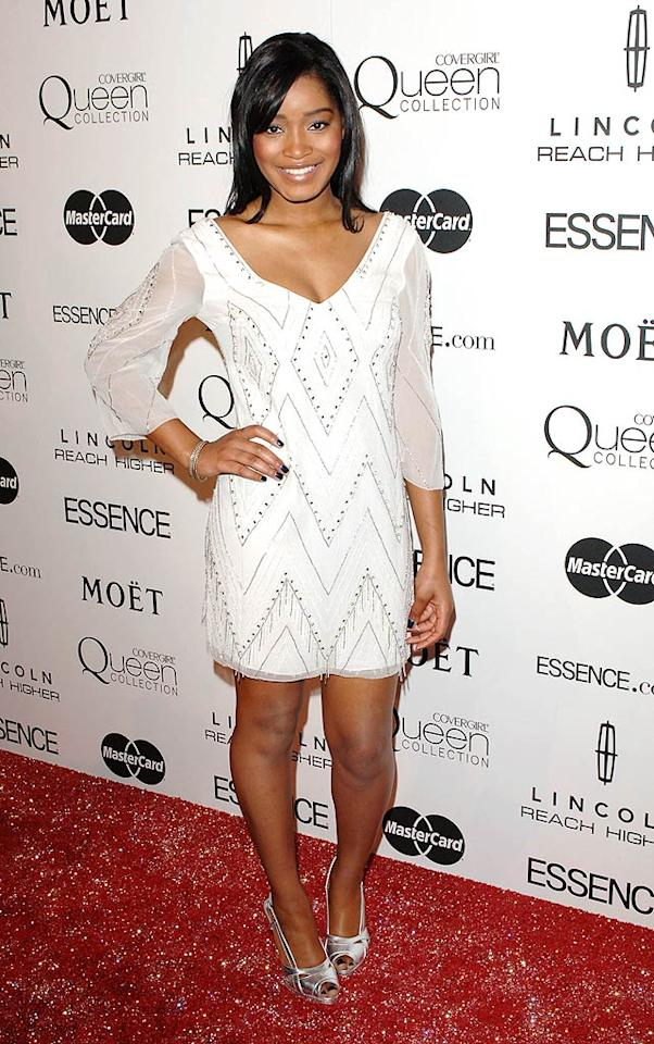 """16-year-old """"True Jackson, VP"""" star Keke Palmer stepped out in a cute white spangled mini to mingle with some of Hollywood's elite. Craig Barritt/<a href=""""http://www.wireimage.com"""" target=""""new"""">WireImage.com</a> - March 4, 2010"""