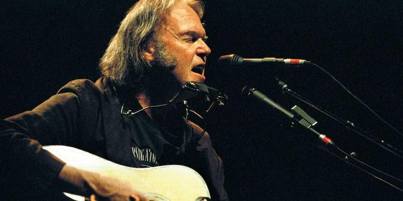 Neil Young's Massive Online Archive Is Open