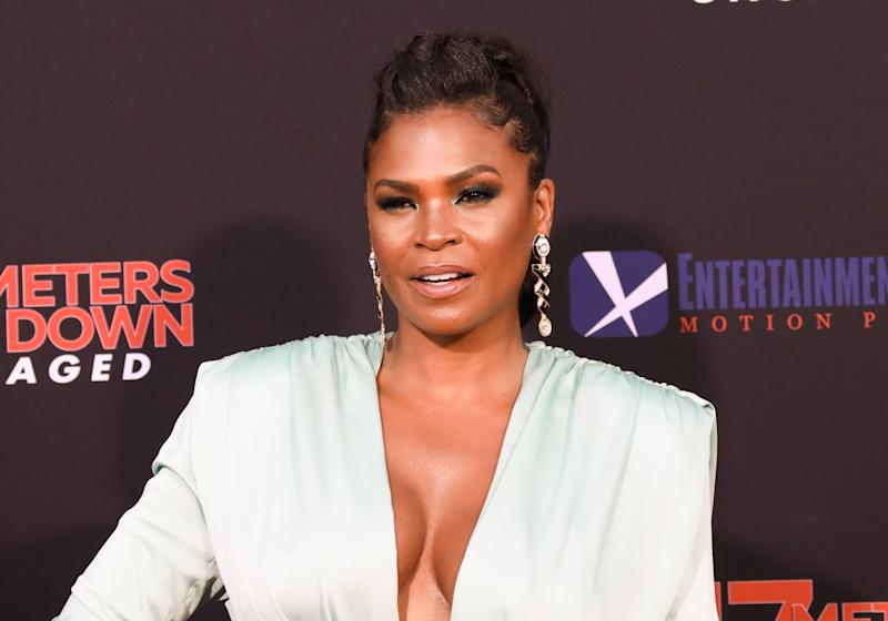 """WESTWOOD, CALIFORNIA - AUGUST 13: Actress Nia Long attends the LA premiere of """"47 Meters Down Uncaged"""" the at Regency Village Theatre on August 13, 2019 in Westwood, California. (Photo by Paul Archuleta/FilmMagic)"""