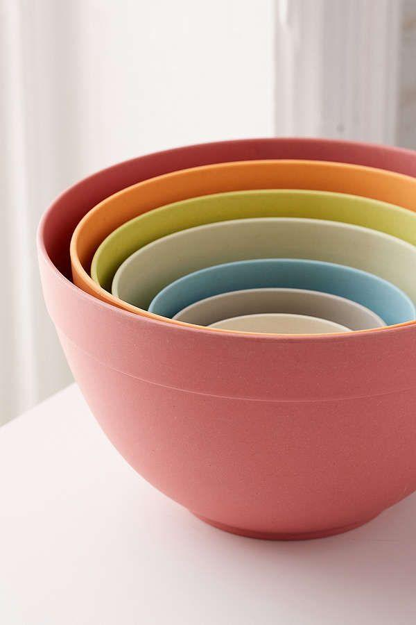 """<p>Nesting bowls are some of the most reached for dishes in your kitchen, and these ones go one better than the classic clear glass stack: They're rainbow-colored and 100% biodegradable.</p><p><strong><em>BUY IT NOW: Bamboozle Rainbow Nesting Bowl Set, $70; </em></strong><a href=""""https://www.urbanoutfitters.com/shop/bowl-bamboozle-nesting-b?category=dinnerware&color=095"""" rel=""""nofollow noopener"""" target=""""_blank"""" data-ylk=""""slk:Urbanoutfitters.com"""" class=""""link rapid-noclick-resp""""><strong><em>Urbanoutfitters.com</em></strong></a></p>"""