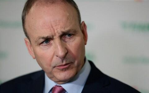 Fianna Fail leader Micheal Martin  - Credit: PA